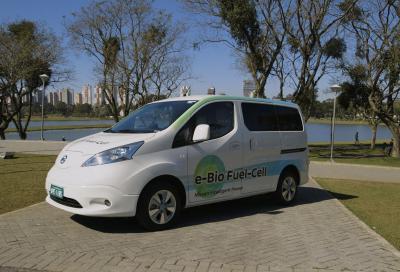 Nissan, primo prototipo fuel cell a ossido solido