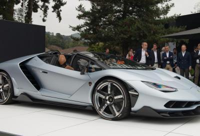 La nuova Lamborghini Centenario Roadster