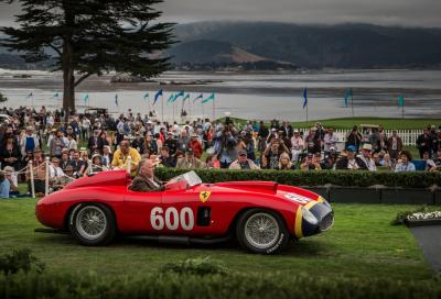 EVENTI: Ferrari, l'eleganza italiana a Pebble Beach