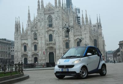 NEWS: A Milano una flotta tutta nuova per car2go