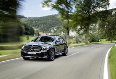 ANTEPRIME: Mercedes-AMG GLC 43 4MATIC Coupé, power SUV