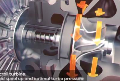 TECNICA: Il V8 turbo della Ferrari 488 GTB