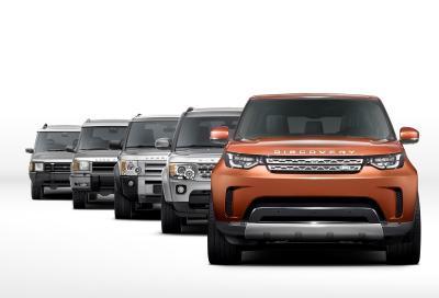 Land Rover Discovery 2017, prime immagini