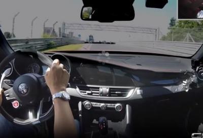 """VIDEO: Alfa Romeo Giulia Quadrifoglio: 07'.32"""" al Nürburgring"""
