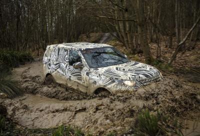 TECNICA: I collaudi della nuova Land Rover Discovery 2017