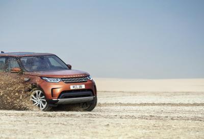 Nuova Land Rover Discovery 2017, informazioni e prezzi