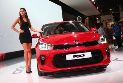 Kia Rio si rinnova per il 2017