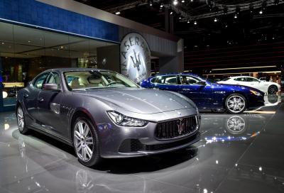 Aggiornamento leggero per Maserati Ghibli 2017