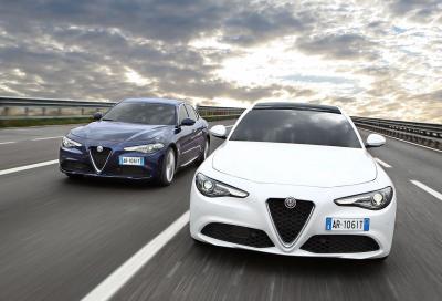 Alfa Romeo Giulia Veloce e Business AE, i prezzi di due varianti all'opposto
