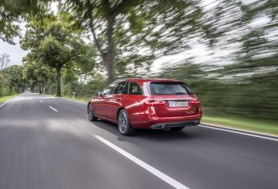 PRIME IMPRESSIONI: Mercedes Classe E 220d Wagon Sport