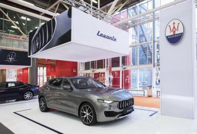 Levante, la più amata di Maserati (a Bologna)