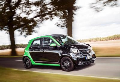 Anteprima italiana per la nuova elettrica smart forfour electric drive