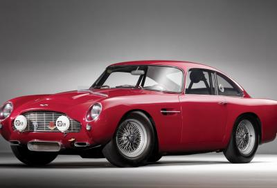 Aston Martin ripropone in serie limitata la storica DB4 GT