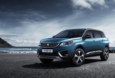 Nuova Peugeot 5008 arriva in Italia, definito il listino prezzi