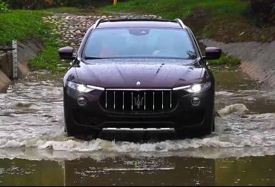Maserati Levante, la prova su strada e fuoristrada