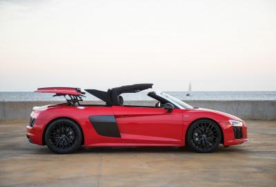 Prime impressioni: Audi R8 Spyder, tende la mano