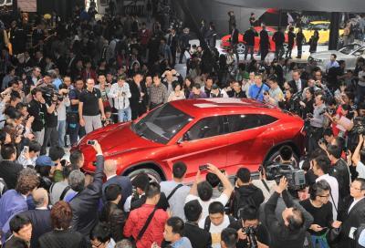 Lamborghini Urus sarà anche ibrida plug-in