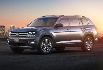 Dal salone di Detroit VW annuncia un SUV elettrico per l'appuntamento di Shanghai