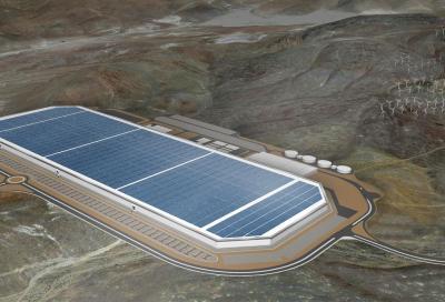 Con la Gigafactory Tesla ha le sue batterie
