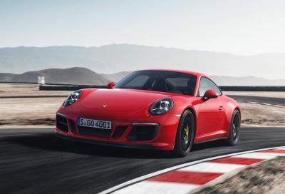 Cinque versioni GTS della 911 da marzo in listino