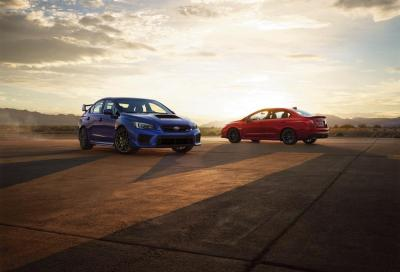 Subaru: WRX e WRX STI con specifiche USA
