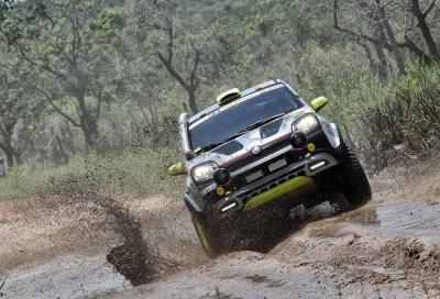 La Fiat Panda è arrivata al traguardo della Dakar