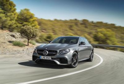 Mercedes AMG E 63 4Matic+, la Classe E più potente di sempre