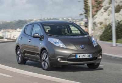 La mobilità elettrica di Nissan anche a Fiumicino