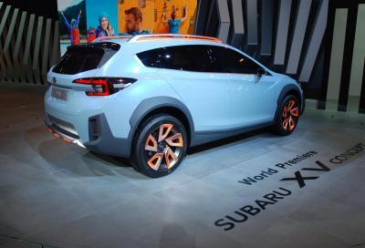 La nuova Subaru XV debutta a Ginevra