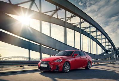 In arrivo la terza generazione della Lexus IS