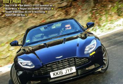 Automobilismo di febbraio è in edicola con la DB11 in copertina