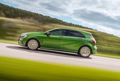 La futura Mercedes Classe A sarà più sportiva e aggressiva