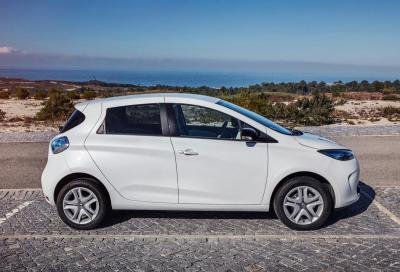 Renault Zoe bestseller 2016 tra elettriche e plug-in