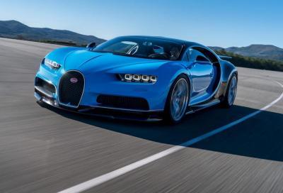 Bugatti avvia la produzione della Chiron