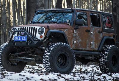 Tuning: Vinler reimmagina la Jeep Wrangler, pensata per i cacciatori