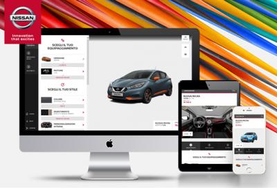 Configurare la nuova Nissan Micra? Si fa online