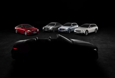Mercedes Classe E Cabrio e Classe X Concept a Ginevra