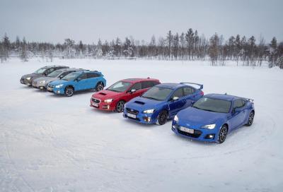 Subaru: una novità l'anno entro il 2020, focus sui SUV