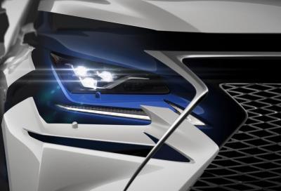 Il primo teaser della Lexus NX