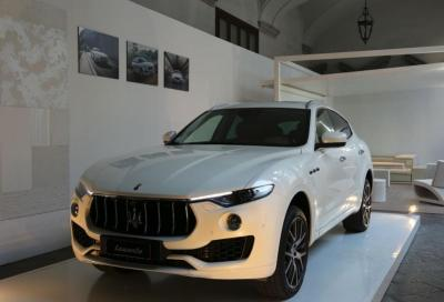 White in the City by Maserati
