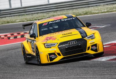 Audi RS3 LMS TCS, grinta in abito lungo