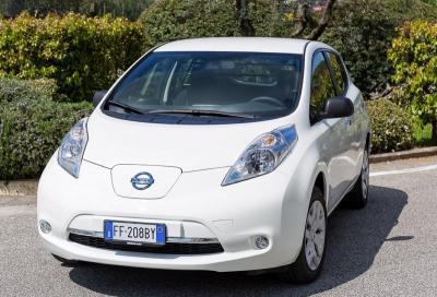 Nissan Leaf, ora è anche Van