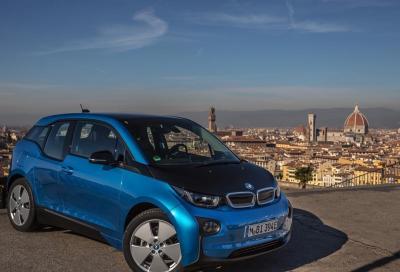 RIcarica nel parco per le elettriche BMW