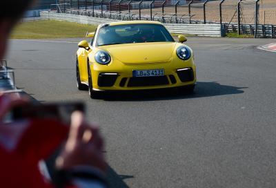 Porsche 911 GT3, si migliora al Ring