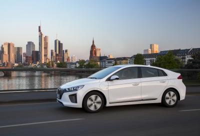 Hyundai Ioniq Plug-in, oltre 60 km a zero emissioni