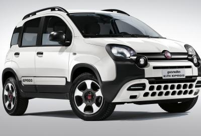 Fiat Panda, debuttano le versioni City Cross e 4x4