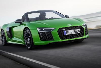 Audi R8 Spyder 5.2 V10 Plus: mai così veloce