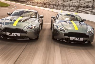 Aston Martin Vantage AMR: due cuori e un telaio