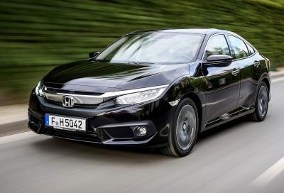 Honda Civic Sedan: colpo di coda