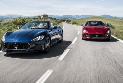 Maserati GranTurismo e GranCabrio, tempo di facelift